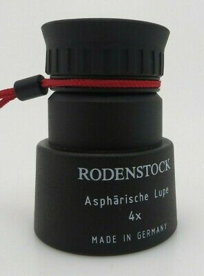 Rodenstock Asphärische Lupe 4x Made in Germany oo001