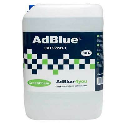Greenchem AdBlue 10 Litre 10L Ad Blue with Free Pouring Spout