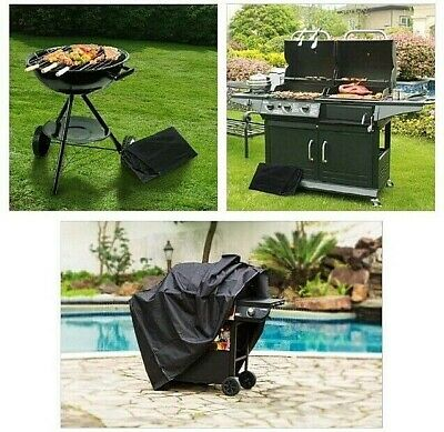 NEW HEAVY DUTY BARBECUE BBQ COVER WATERPROOF GRILL PROTECTION 59Inch 150cm LARGE