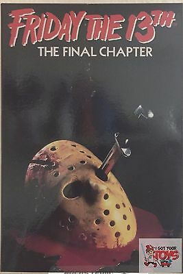 """ULTIMATE JASON VOORHEES NECA Friday The 13th PART 4 FINAL CHAPTER 2017 7"""" FIGURE"""