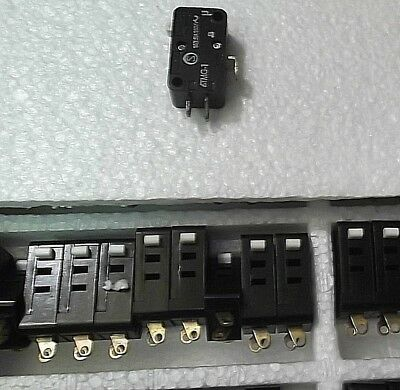 Microswitch 10 Amp Change Over C/O 240 Volts SPDT V3 Micro Switch 6TMG-1 x10pcs