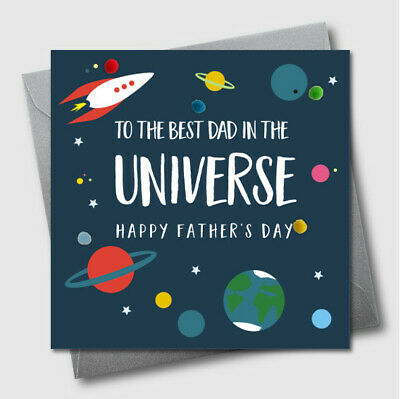 Father/'s Day Card Hand Finished Star Papa Tassel Embellished FTA12