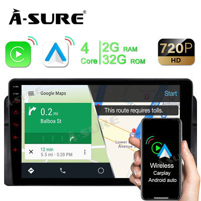 "Für BMW E46 3er 318 320 325 7"" GPS DVD Navigation Autoradio USB VMCD Mirrorlink"