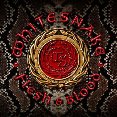 Whitesnake Flesh & Blood CD Neu Pre Order 10/05/19