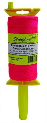 1000 foot Hi Viz Pink Builders Brick Laying Measuring Line String 300m