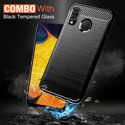 Samsung Galaxy A50 A30 A20 A70 Case Hybrid Anti Knock Heavy Duty Bumper Cover