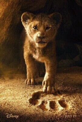 The Lion King New 2019 Movie Poster A3
