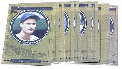 2007 Topps Distinguished Service Singles -Pick From Drop List