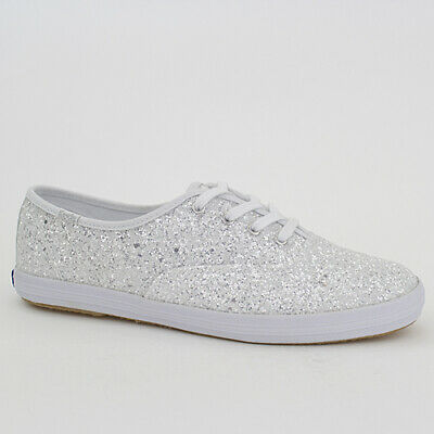 KEDS DAMEN SCHUHE CHAMPION DANCING DOTS WHITE WEISS CANVAS WF57834 KATE SPADE