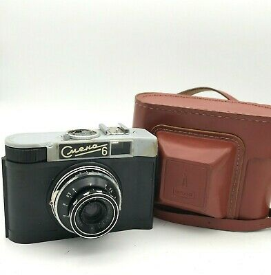 Vintage SMENA 6 Camera LOMO Triplet T-43 f/4 40mm Lens Collectible Photo USSR