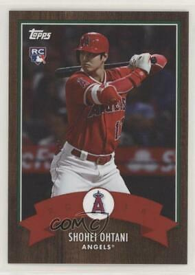 2018 Topps Advent Calendar Online Exclusive #1 Shohei Ohtani Los Angeles Angels