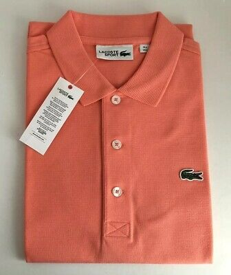 Genuine Lacoste Mens Polo Size 3 US Small Pit Size 19 Inches (100% Cotton)