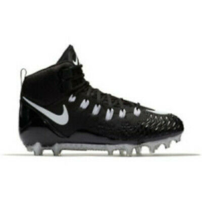 huge selection of 5dcb6 31b3c NOUVEAU NIKE FORCE Sauvage Pro Td Football Cale Noir/Blanc Taille 10 ...