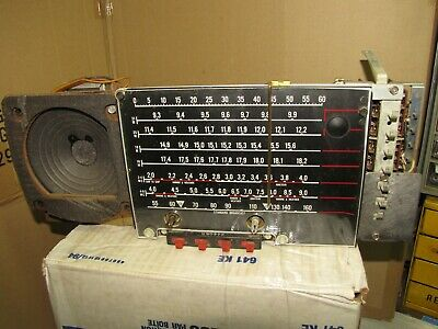 Zenith TransOceanic Tube radio Chassis 6A40  for model B600 Parts Restore