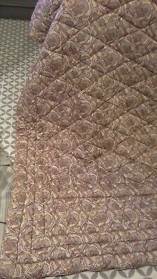 Antique vintage eiderdown  paisley