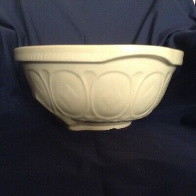 """VTG12x5.5"""" Church Gresley TG GREEN LTD GRIPSTAND Mixing BOWL MADE IN ENGLAND 9's"""