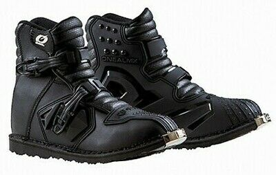 Oneal Rider Mens Shorty MX ATV Motorcycle Boots Black All Sizes 7-13