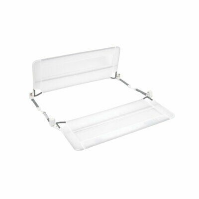 Regalo REG-2250 43-Inch Swing Down Double-Sided Bed Rail with Mesh Wall, White