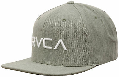 213eff70 RVCA MENS SPORT Twill Snapback III Hat - Vintage White/Navy - $20.58 ...