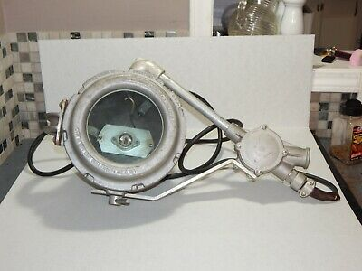 Vintage Crouse Hinds Nautical Searchlight ? Fire Department ? Explosion Proof