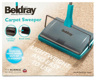 Beldray Carpet Sweeper - Turquoise