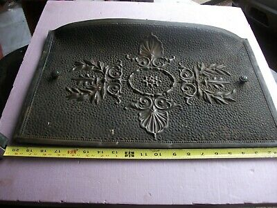 + Embossed Fireplace Cover - Copper Hints Architectural 13 x 20 aprx