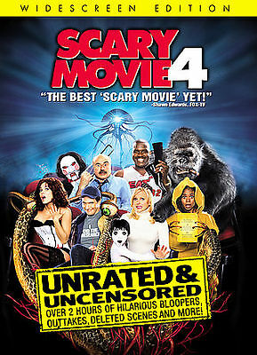 Scary Movie 4 (Unrated Widescreen Edition) DVD, Craig Bierko, Chris Elliott, Kev
