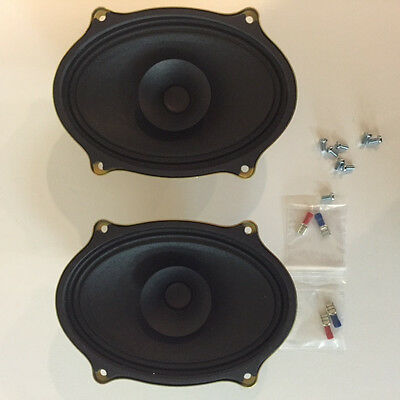 Porsche 914 factory look replacement speaker set as close as it gets