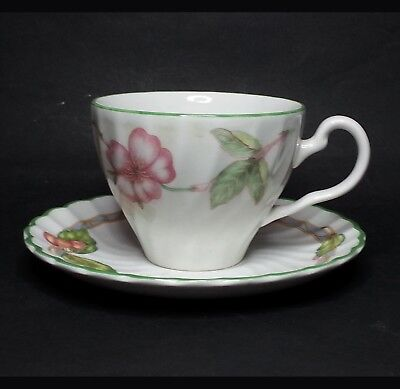 Johnson Brothers Coffee Cup with Saucer Set Made in England, Set of 6