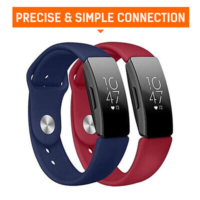 For Fitbit Inspire/Inspire HR Replacement Soft Silicone Sport Wrist Band Strap