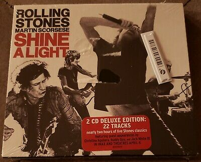 Shine a Light: Original Soundtrack [Deluxe Edition] by The Rolling Stones (CD, …