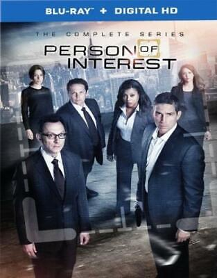 Person of Interest: The Complete Series (DVD,2016)