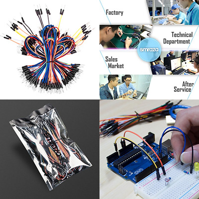 Breadboard Jumper Wires 195Pcs Male To For Arduino & Circuit Board FREE SHIPPING
