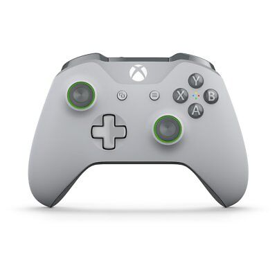 Microsoft Xbox Wireless Controller - Grey/Green (wl3-00060) (wl300060)