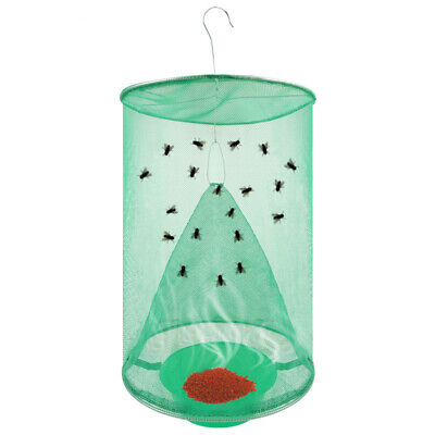 Home Outdoor Ranch Fly Trap The Most Effective Made Powerful Capture Of Suspen