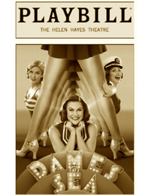 Dames At Sea Broadway Playbill +Full Color Brochures And Flyers