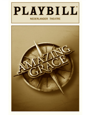 Amazing Grace Broadway Playbill +Full Color Brochures And Flyers