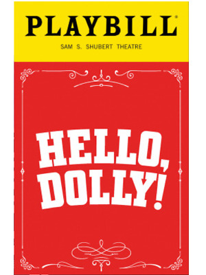 Donna Murphy Hello Dolly Broadway Playbill +Full Color Brochures And Flyers