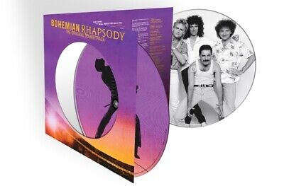 Queen Bohemian Rhapsody soundtrack RSD 2019 ltd vinyl 2 LP picture disc NEW/SEAL