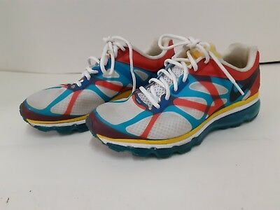 purchase cheap 5b674 c1abc NIKE AIR MAX+ 2012 NRG 532307-100 What The Max USA Olympic Size 9.5