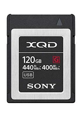 Sony Memory Card Xqd G Series Qd-g120f 120gb 440mb/s Read 400mb/s Write