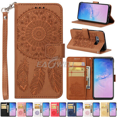 AU For Samsung Galaxy S10 S10 PLUS S10E Wallet Card Slot Leather Case Cover 2019