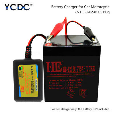 6 V Volt Sealed Lead Acid Rechargeable Battery Charger 5379203
