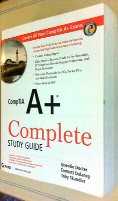 CompTIA A+ Complete Study Guide Dulaney Skandier Docter TESTING EXAM SOFTWARE CD