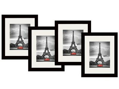 STUDIO 500 4 Value Pack of 11 by 14-inch Real Solid Wood Photo Frames
