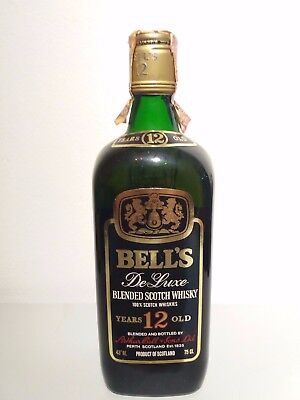 Bell's 12 Year Old De Luxe 1960s