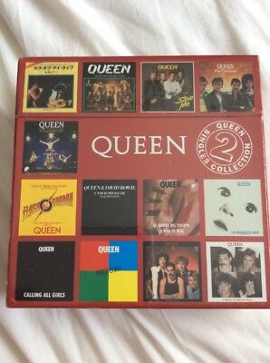 Queen: Box Set - Singles Collection Volume 2 - New and sealed.
