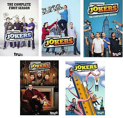 Impractical Jokers: The Complete Series Season 1 2 3 4 5 (DVD, 2017 16-Disc Set)