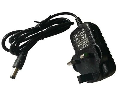 5.5mmx2.1mm AC100-240V to DC UK Main Power Supply Charger Adaptor Converter Cord