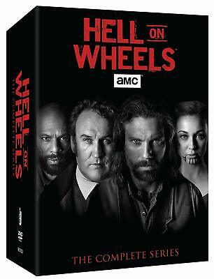 HELL ON WHEELS: The Complete Series Seasons 1 2 3 4 5 ( Vol. 1 & 2)(DVD, 17-Disc